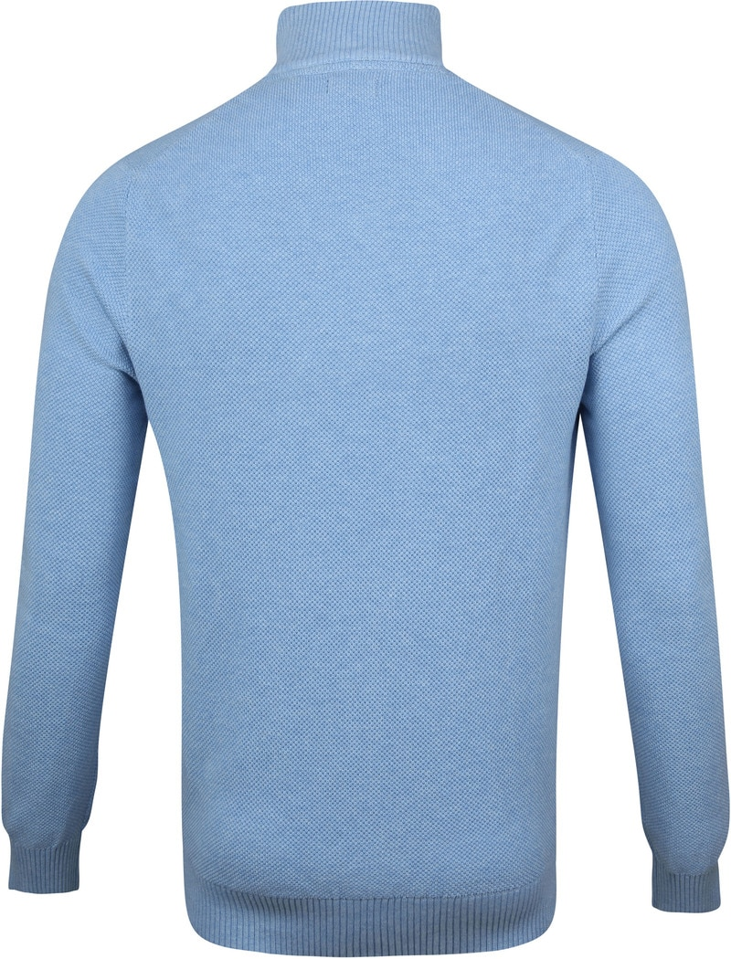 IZOD Zip Sweater Blue photo 3