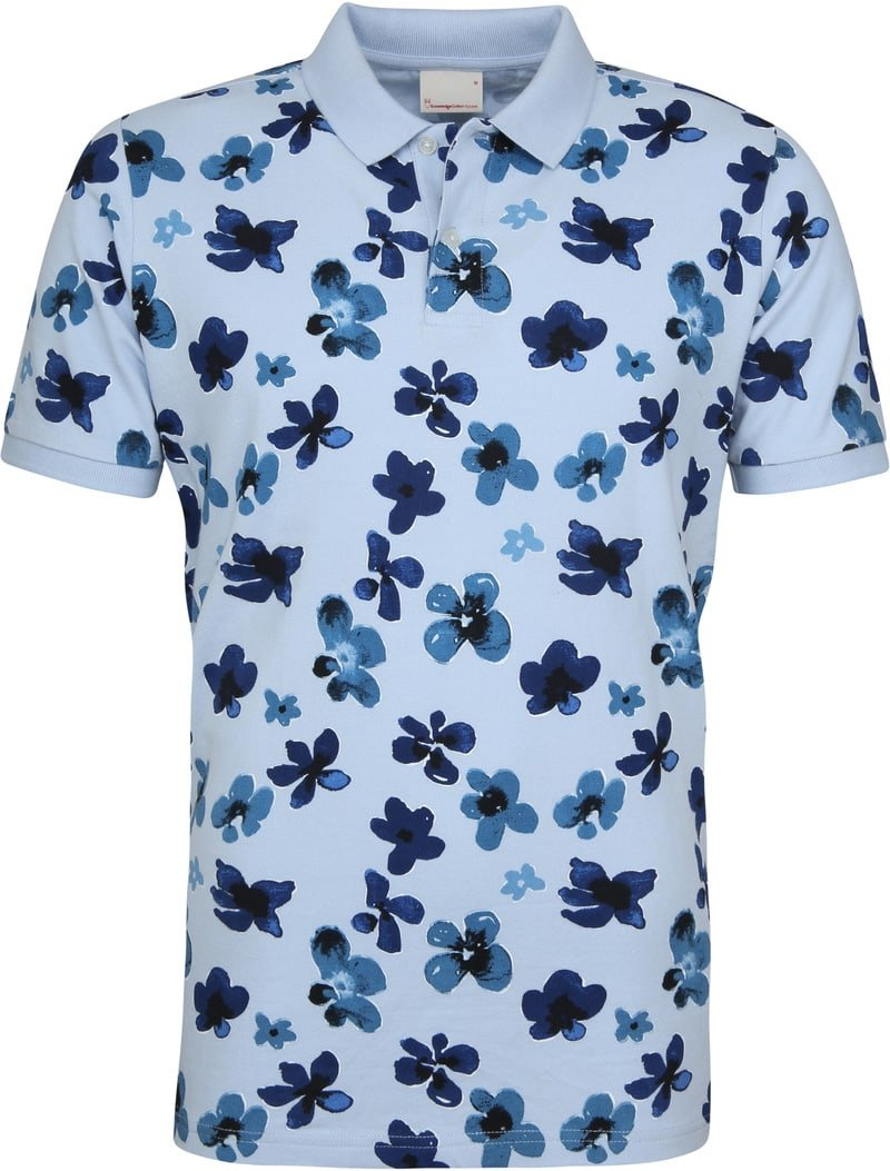 Knowledge Cotton Apparel Polo Skyway Flower foto 0