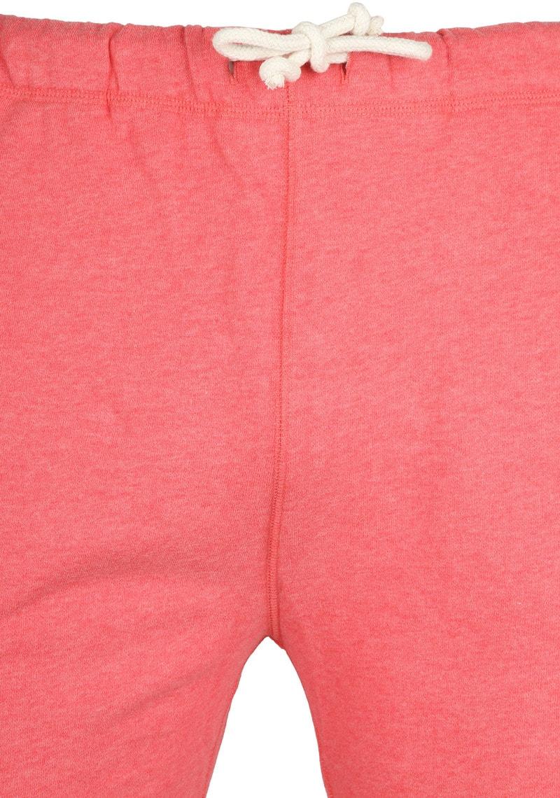 Knowledge Cotton Apparel Short Melange Rood foto 2
