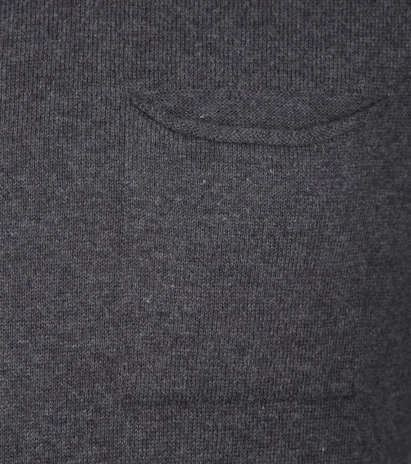 KnowledgeCotton Apparel Pullover Dark Grey photo 2