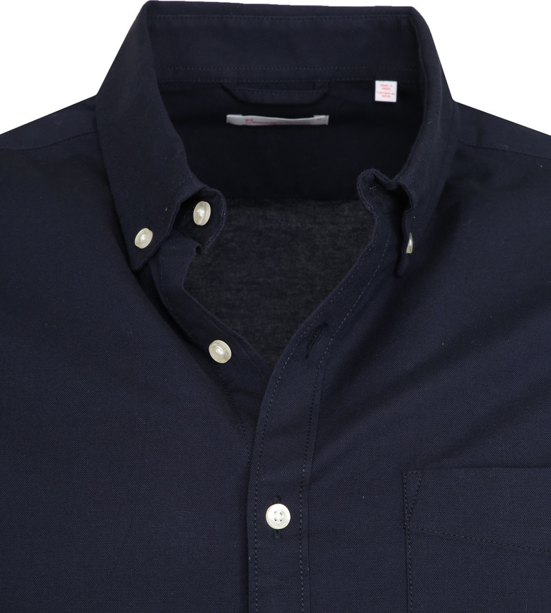 KnowledgeCotton Apparel Shirt Stretch Navy photo 1