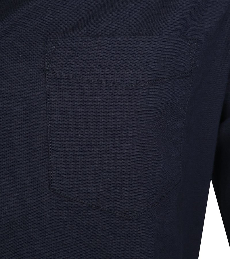 KnowledgeCotton Apparel Shirt Stretch Navy photo 2