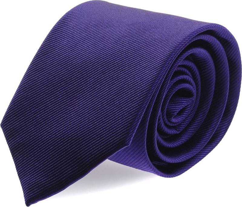 Krawatte Seide Blau Lila Uni F55