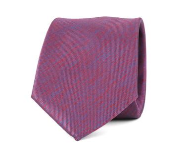 Detail Krawatte Seide Bordeaux 9-17