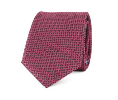 Krawatte Seide Dessin Bordeaux 9-17  online kaufen | Suitable