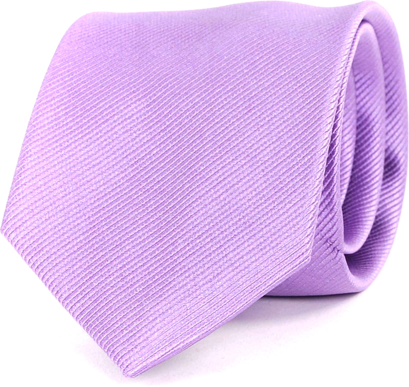 Krawatte Seide Flieder Uni F26 Foto 0
