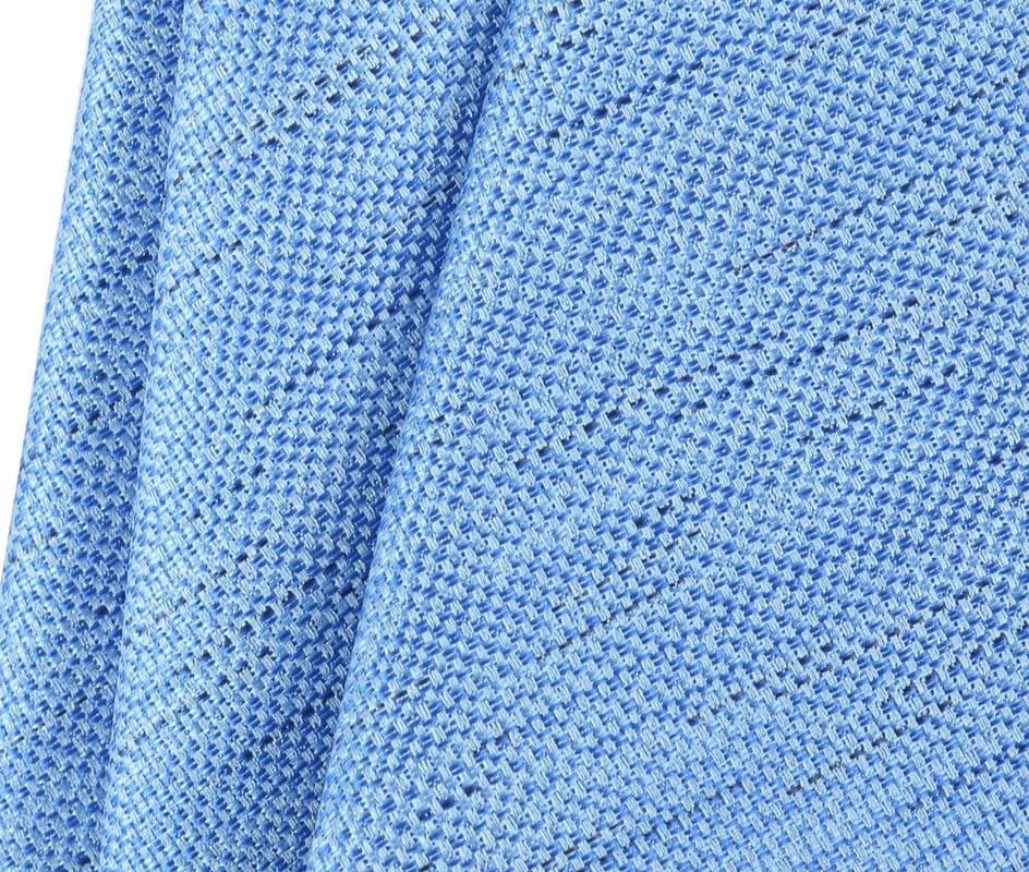 Detail Krawatte Seide Hellblau 9-17