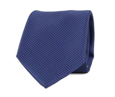 Krawatte Seide Karo Blau 9-17  online kaufen   Suitable