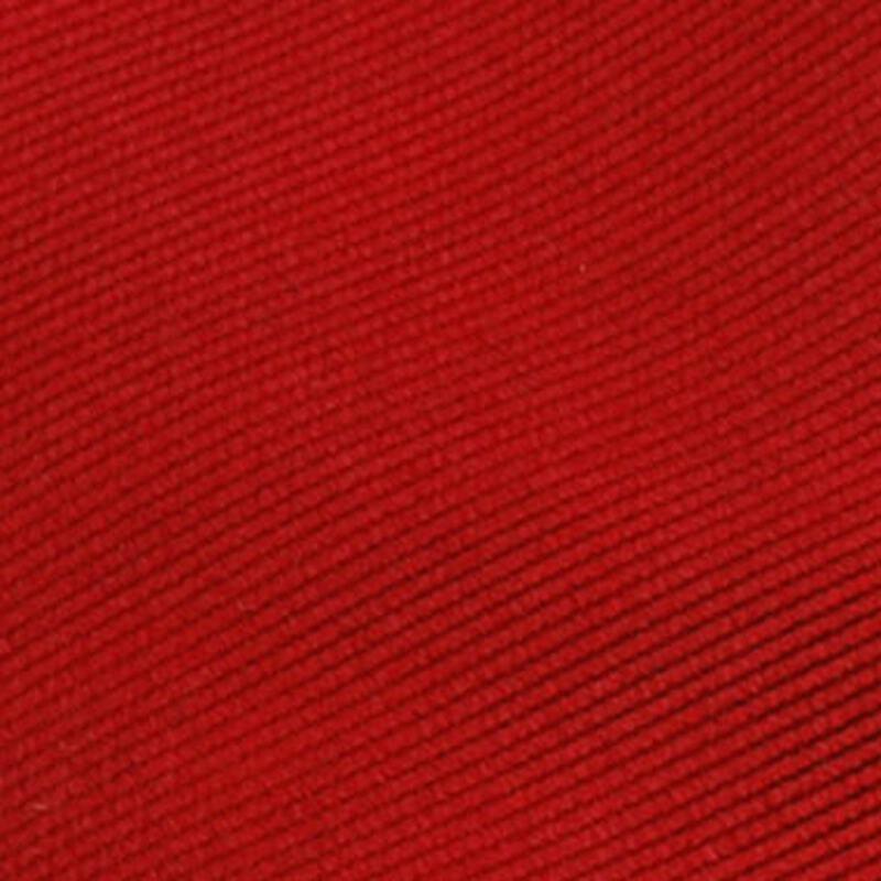 Krawatte Seide Knallrot Uni F34 Foto 1