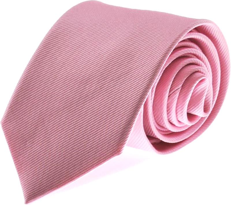 Krawatte Seide Rosa Uni F03 Foto 0