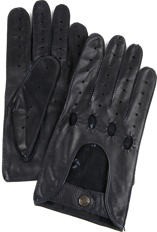 Laimbock Car Gloves Miami Navy photo 0