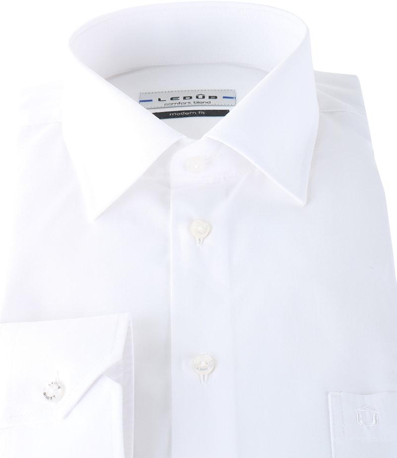 Ledub Hemd Weiß Modern Fit Foto 1