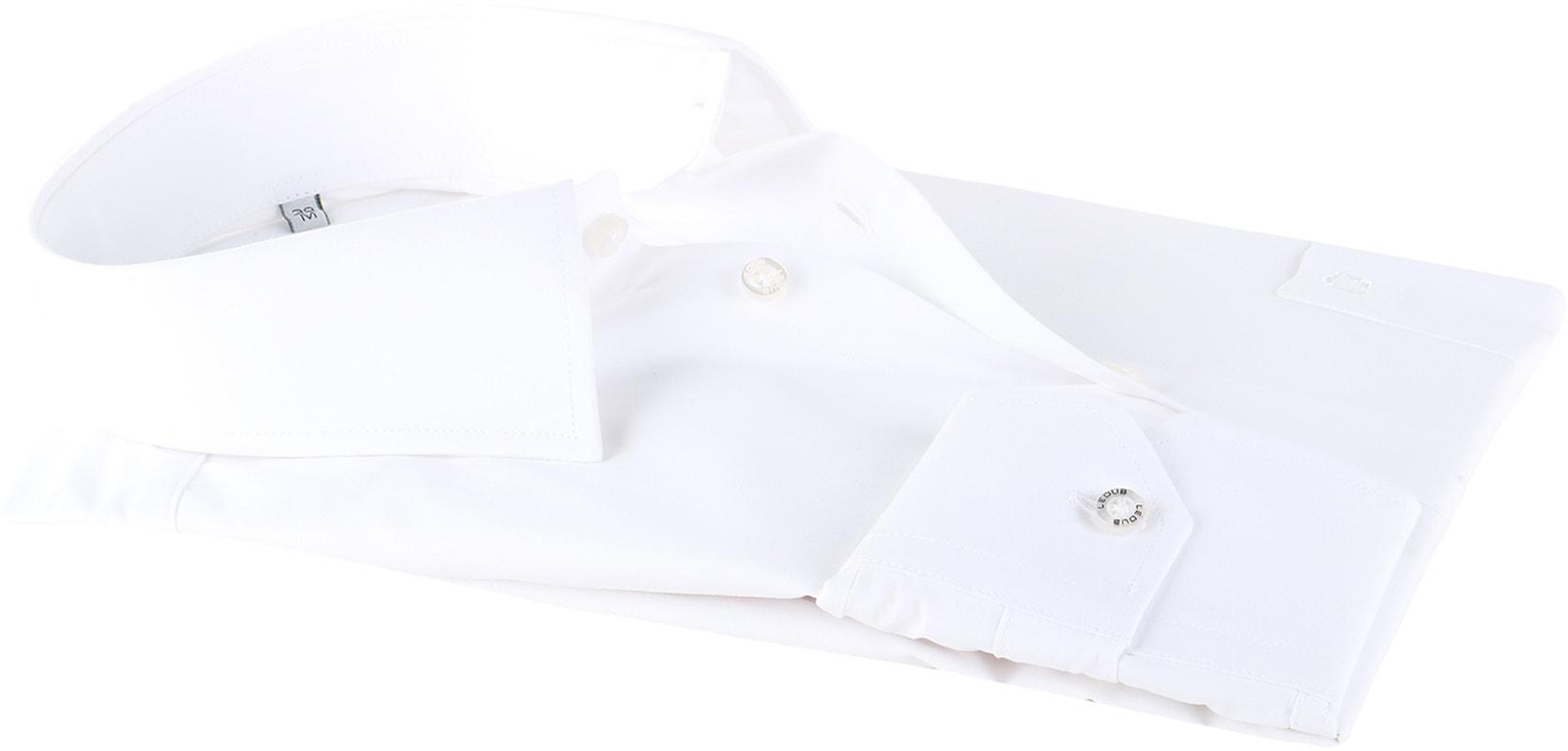 Ledub Hemd Weiß Modern Fit Foto 3