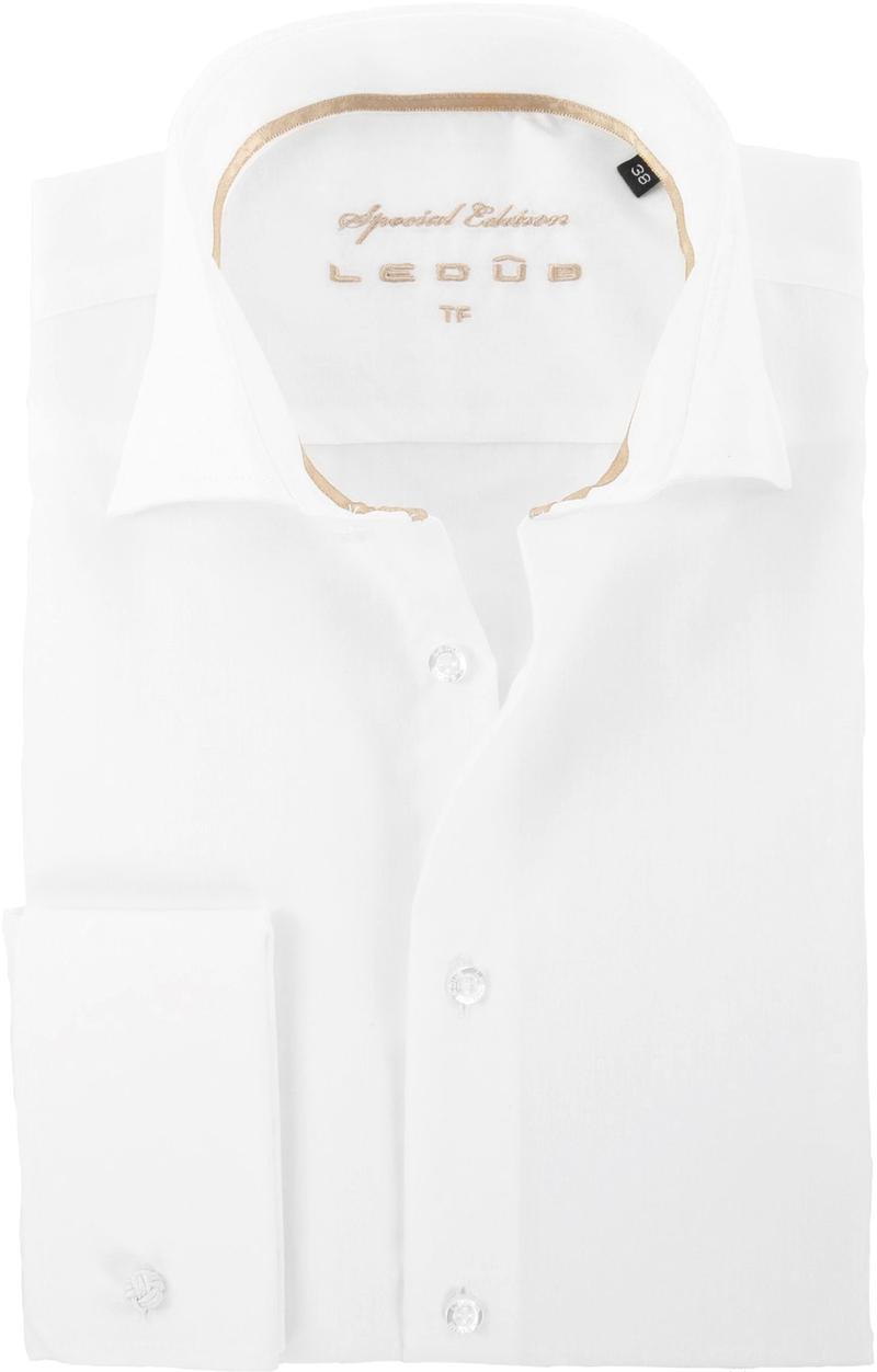 Ledub Hochzeit Hemd Bügelfrei Ecru