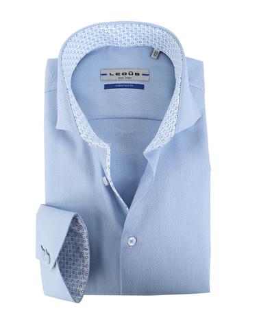 Ledub Overhemd Blauw  online bestellen | Suitable