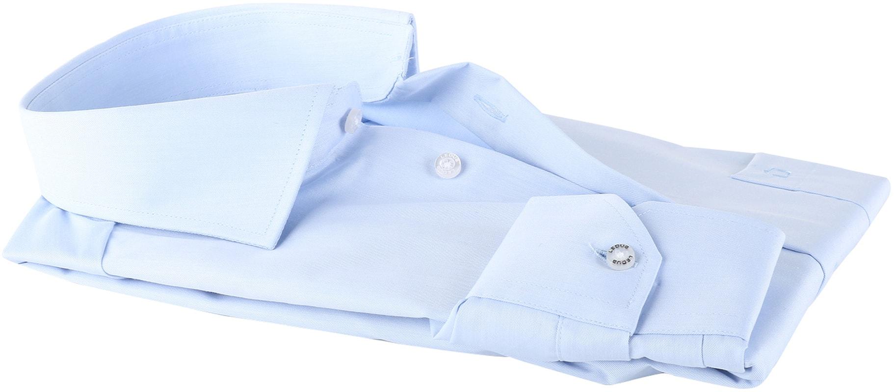 Ledub Overhemd Blauw Non Iron