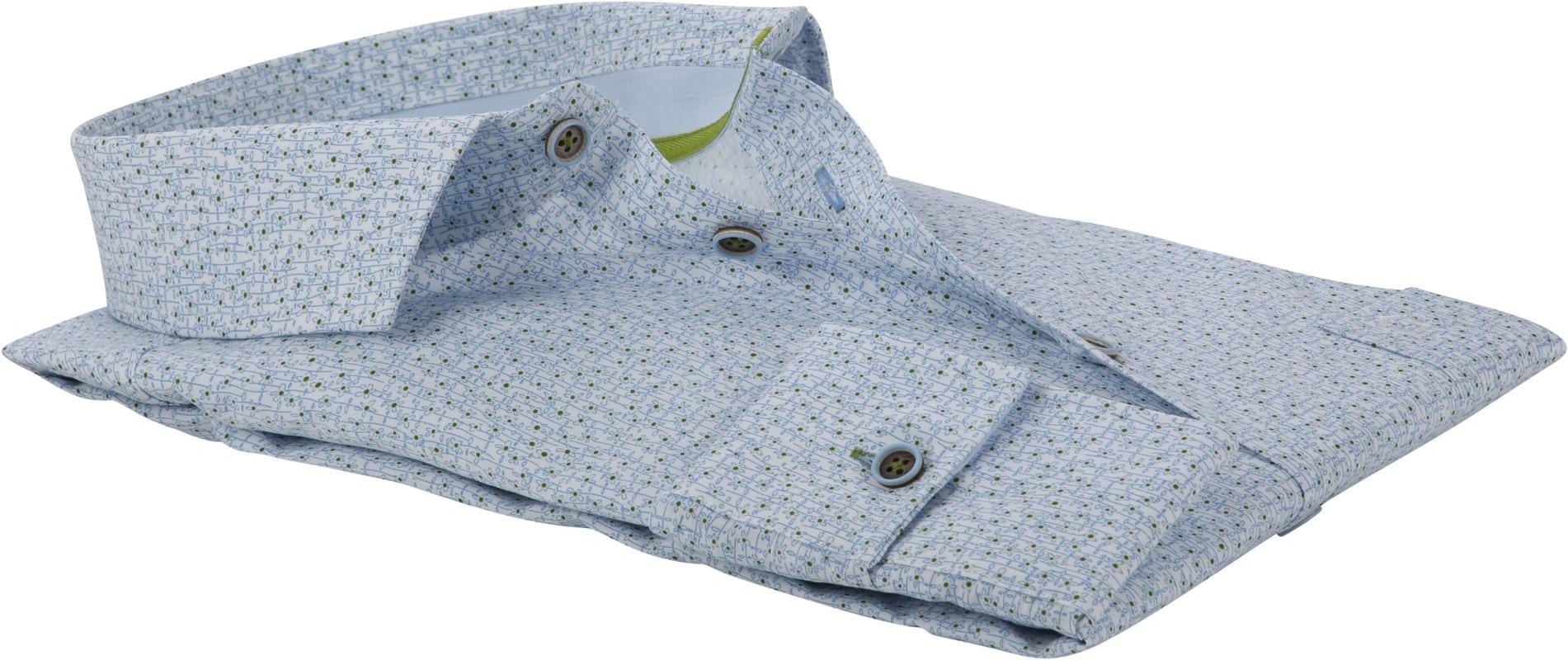 Ledub Overhemd Bloemen MF foto 3