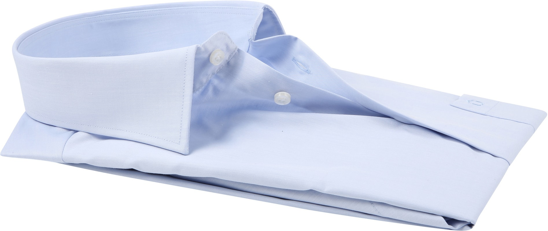 Ledub Overhemd Korte Mouwen Blauw