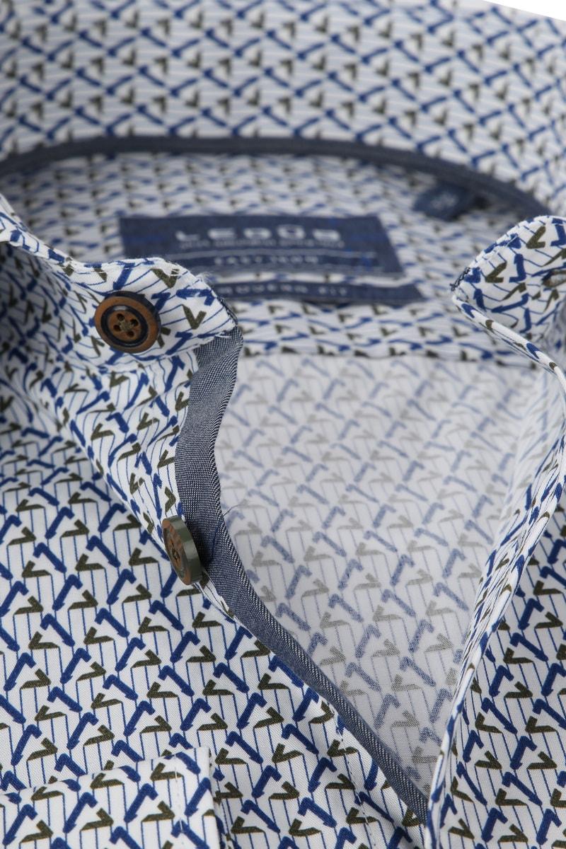 Ledub Overhemd MF Dessin Army Blauw foto 1