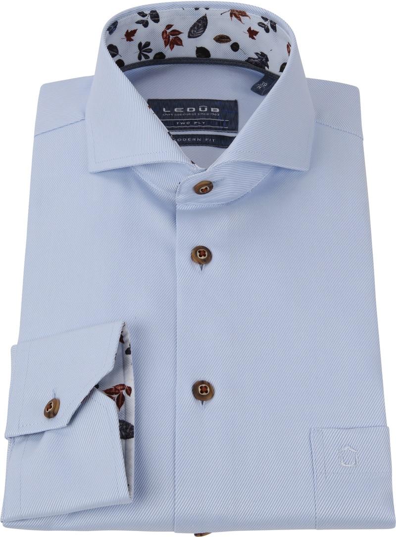 Ledub Overhemd MF Uni Lichtblauw foto 2