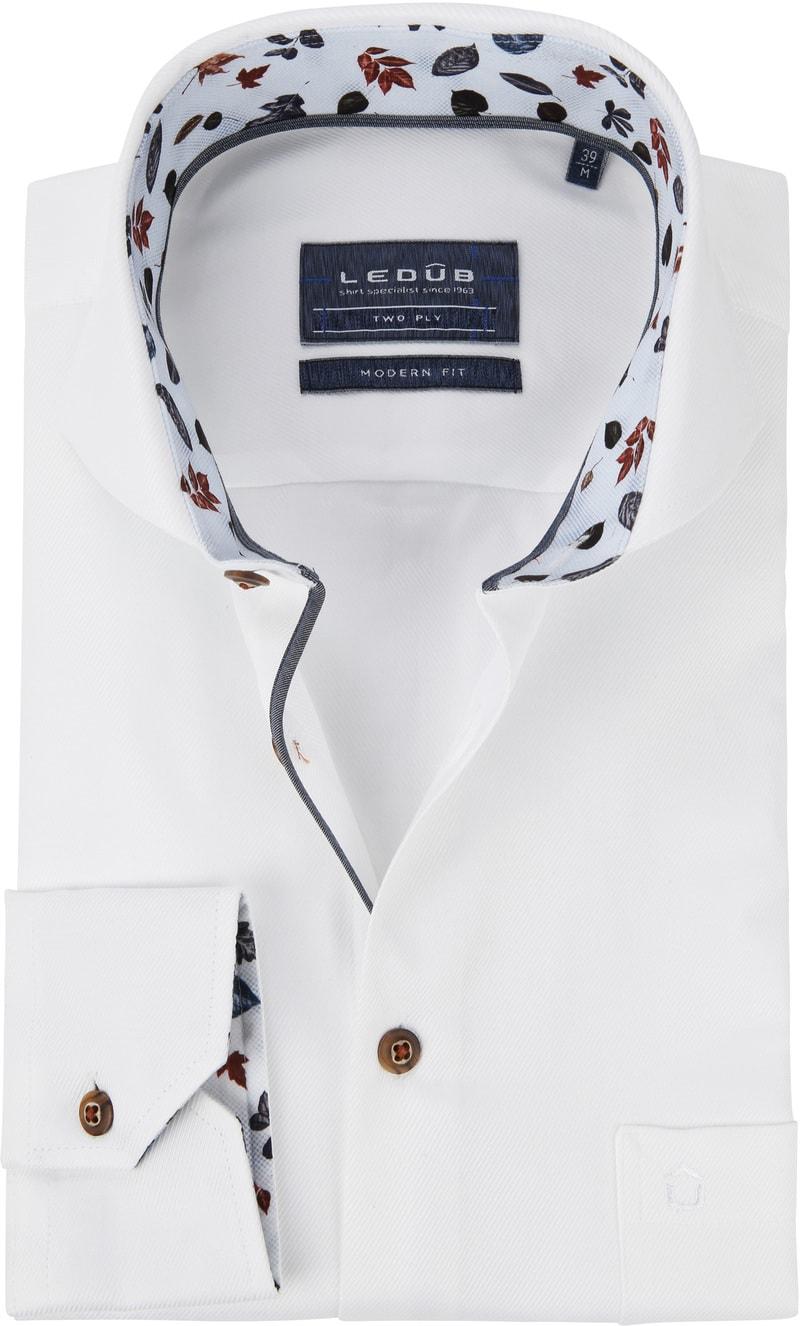 Ledub Overhemd MF Uni Wit foto 0