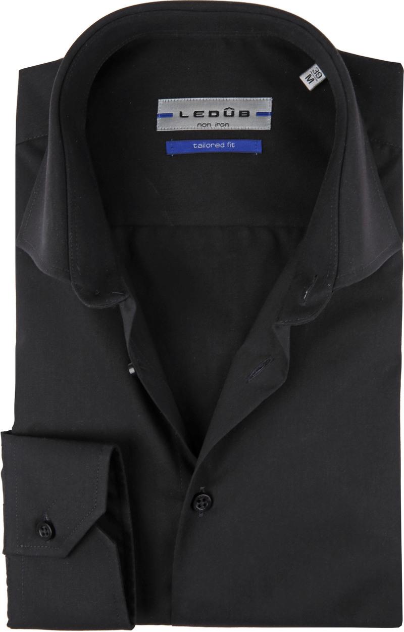 Ledub Overhemd TF Non Iron Zwart