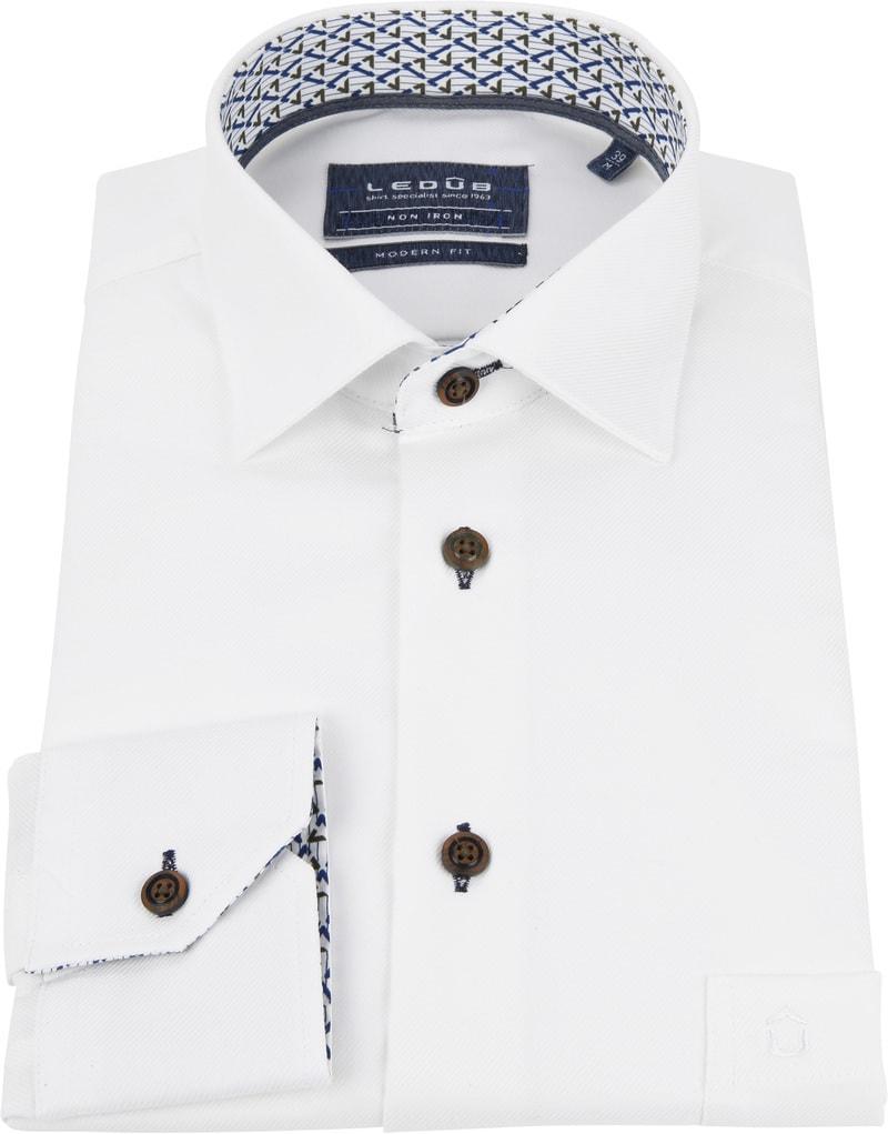 Ledub Shirt MF Dessin White photo 2