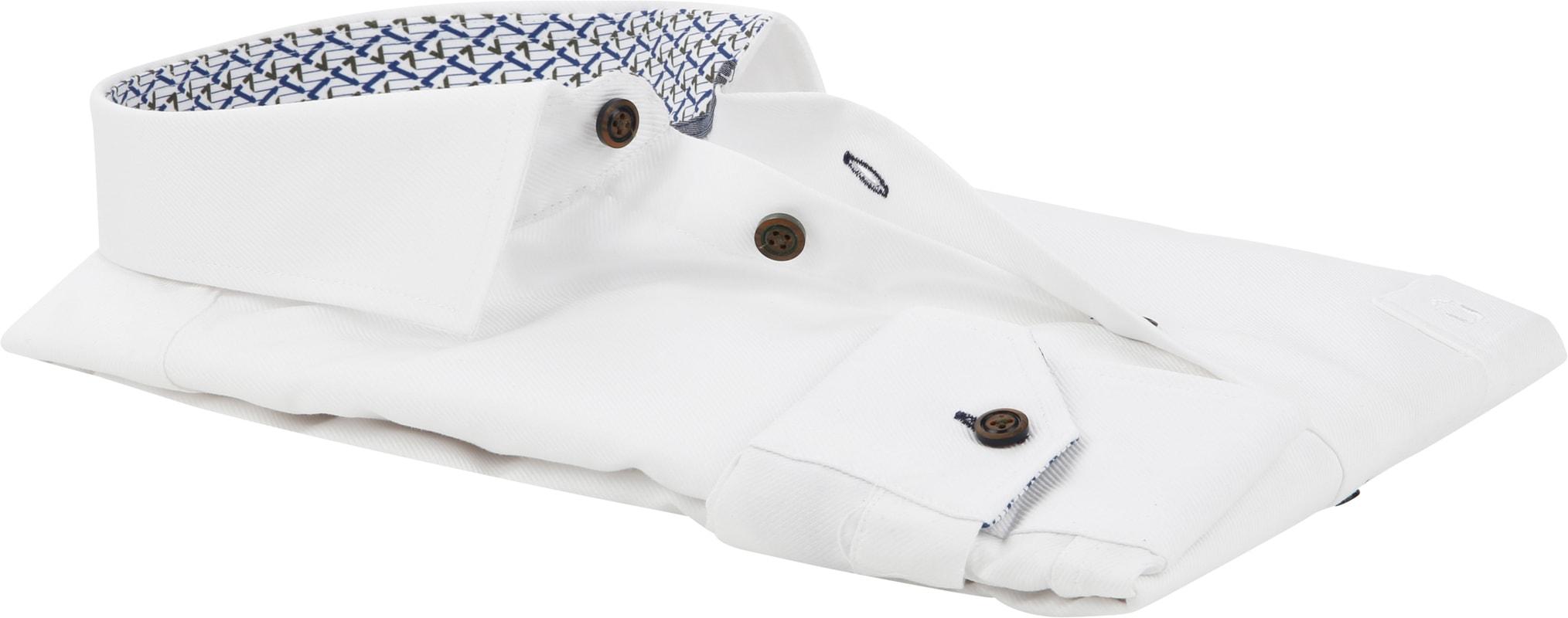 Ledub Shirt MF Dessin White photo 3