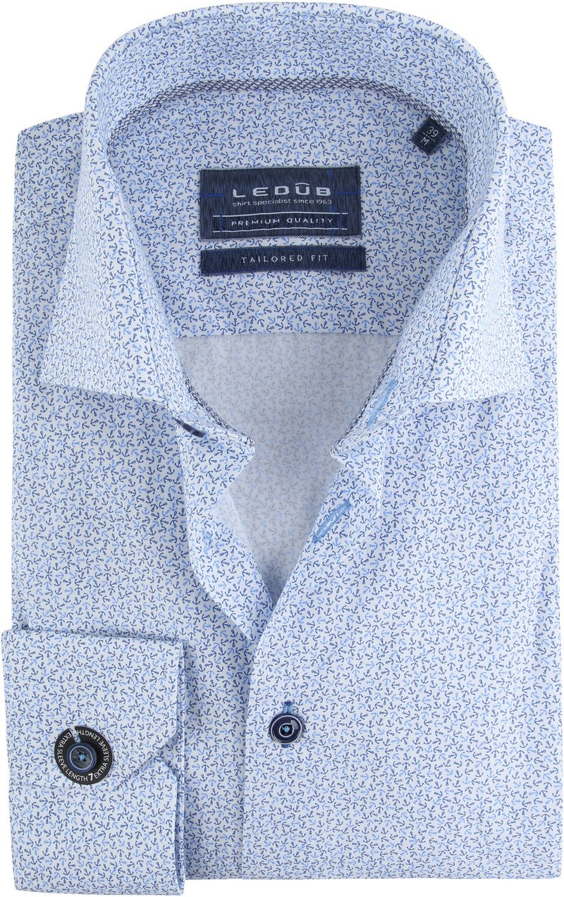 Ledub Shirt TF Blue Anchor SL7 photo 0