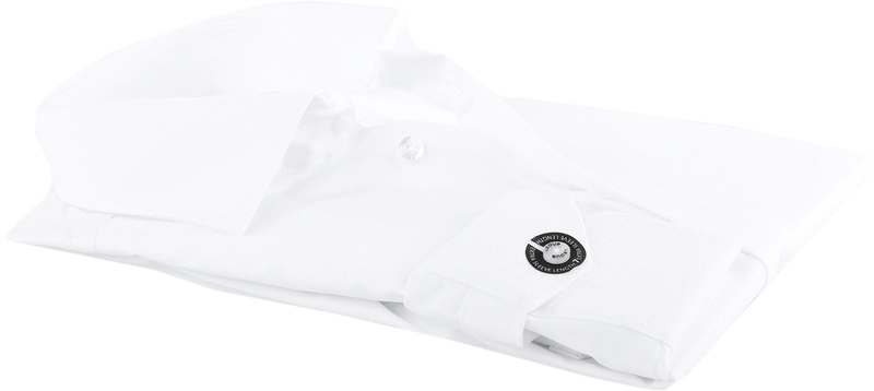 Ledub Strijkvrij SL7 Shirt Wit foto 3