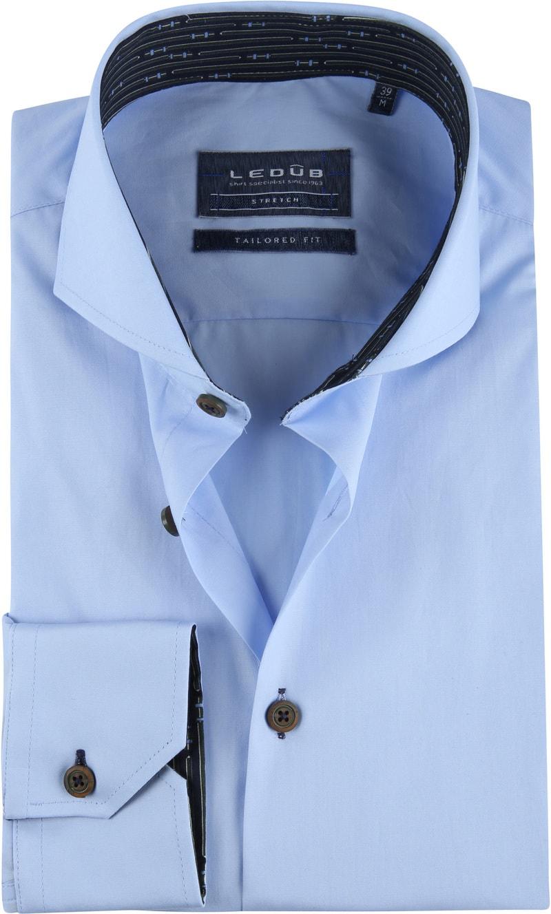 Ledub TF Overhemd Blauw foto 0