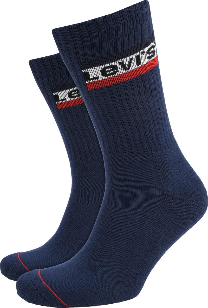 Levi's 2-Pack Sportswear Sokken Navy