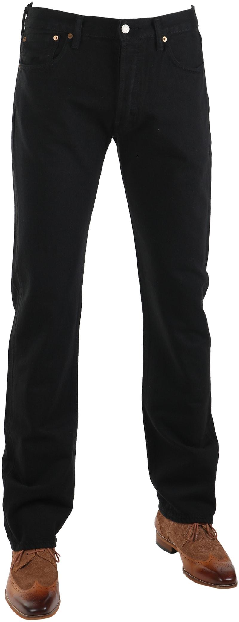 Levi's 501 Jeans Original Fit Black 0165 photo 0