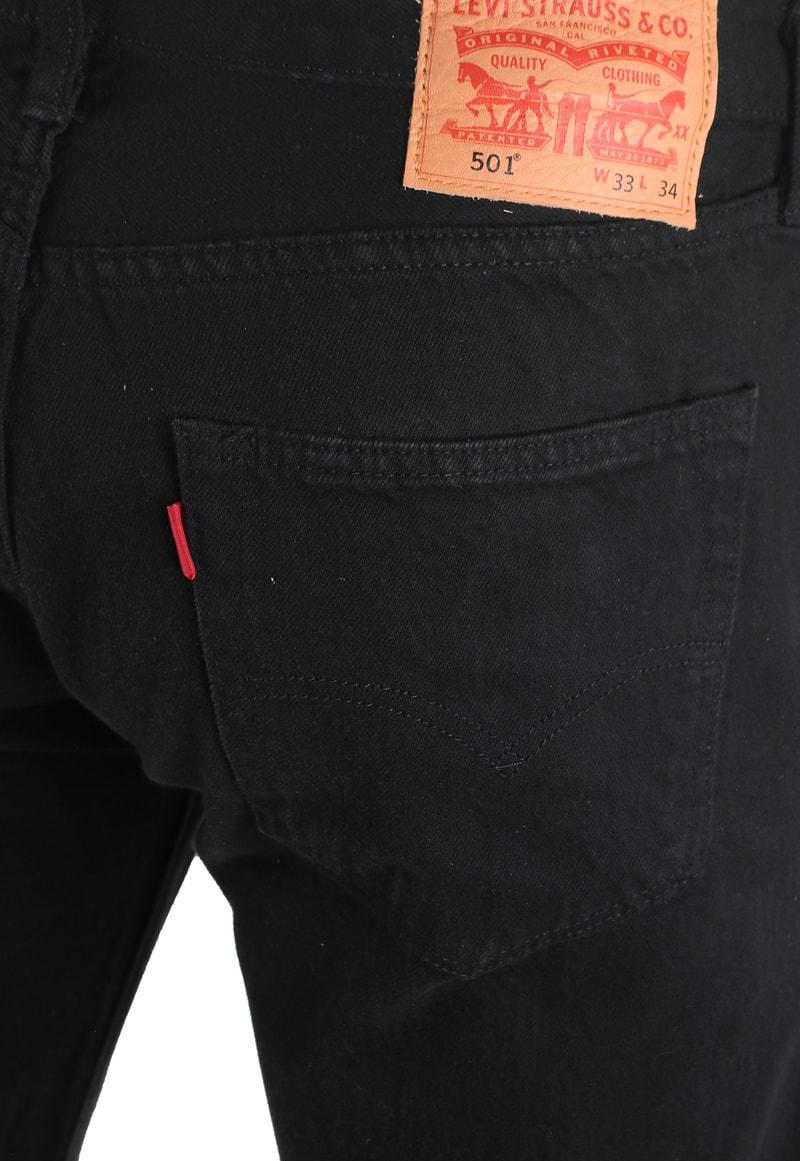 Levi's 501 Jeans Original Fit Black 0165 photo 4