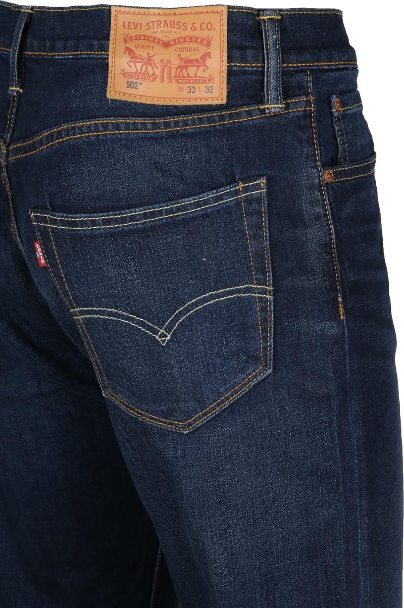 Levi's 502 Jeans City Park Dark Blue 0011 foto 4