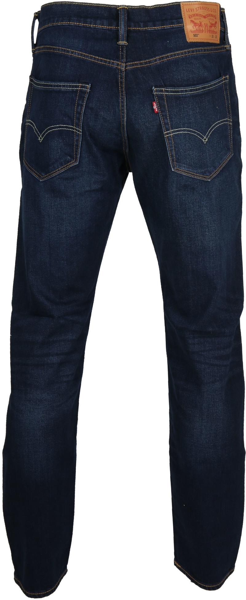Levi's 502 Jeans City Park Dark Blue 0011 foto 5