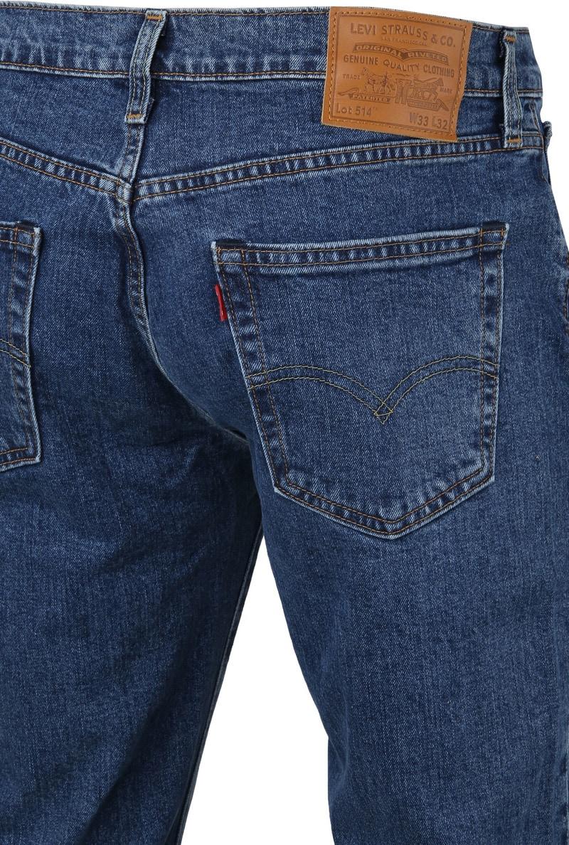 Levi's 514 Jeans Regular Fit Stonewash foto 2