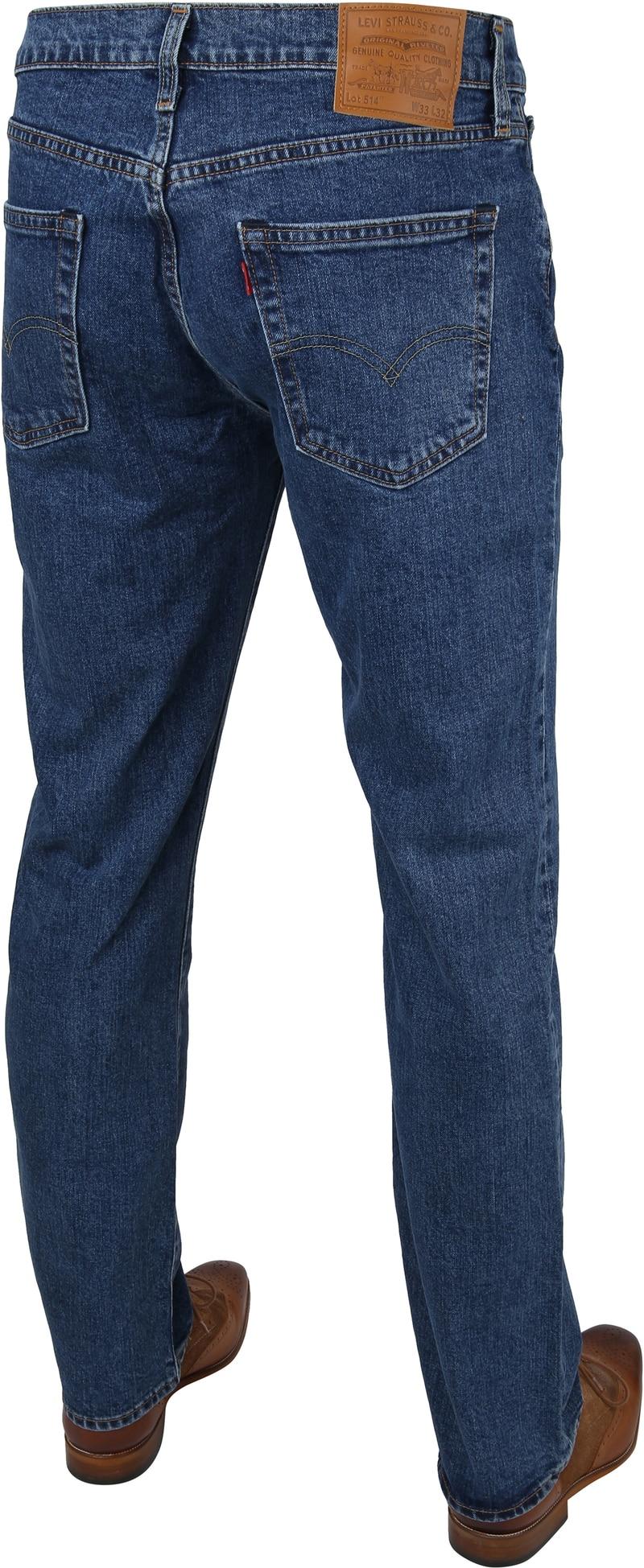 Levi's 514 Jeans Regular Fit Stonewash foto 3