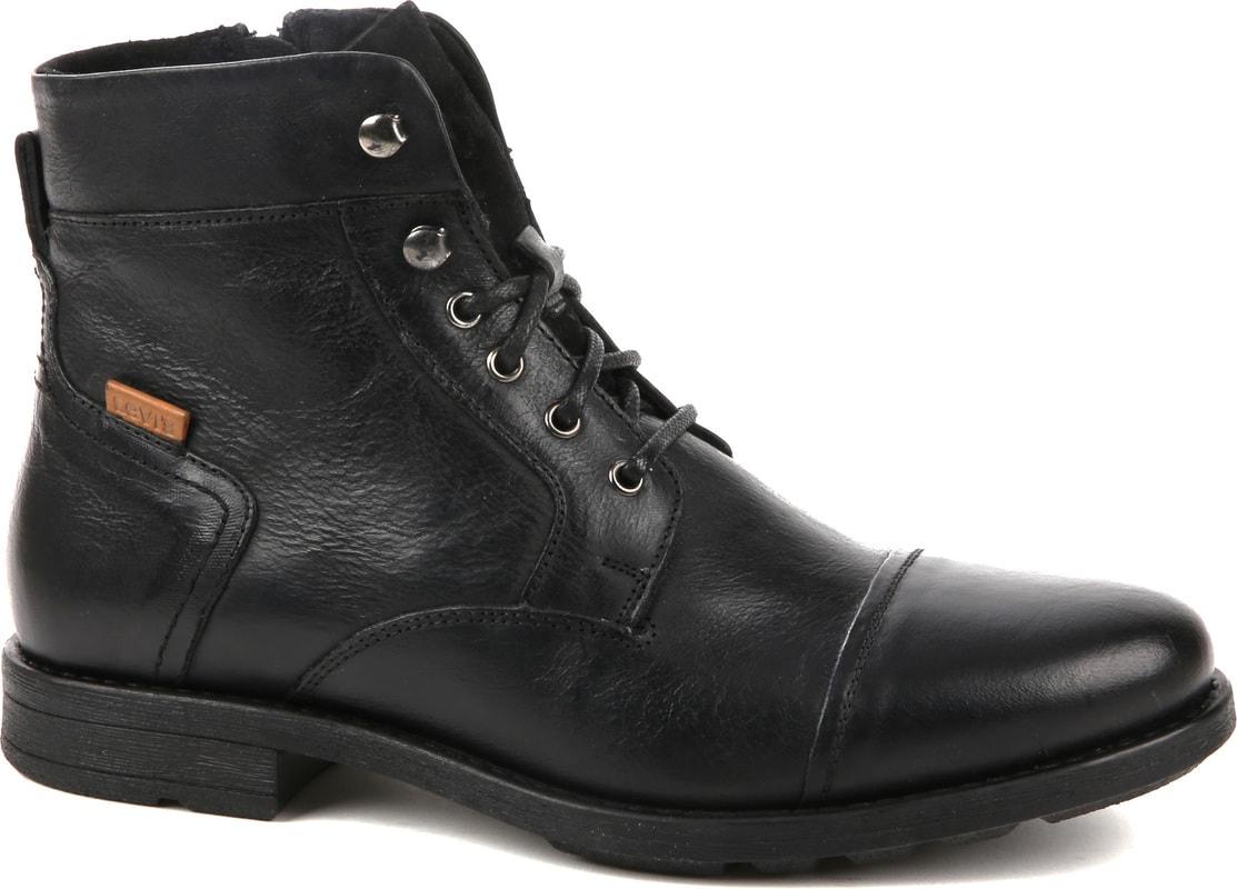 Levi's Boots Reddinger Schwarz