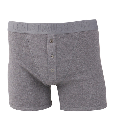 Levi's Boxer Shorts Grey Rib photo 0