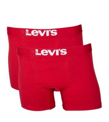 Levi's Boxershort 2-Pack Chili Rood foto 0