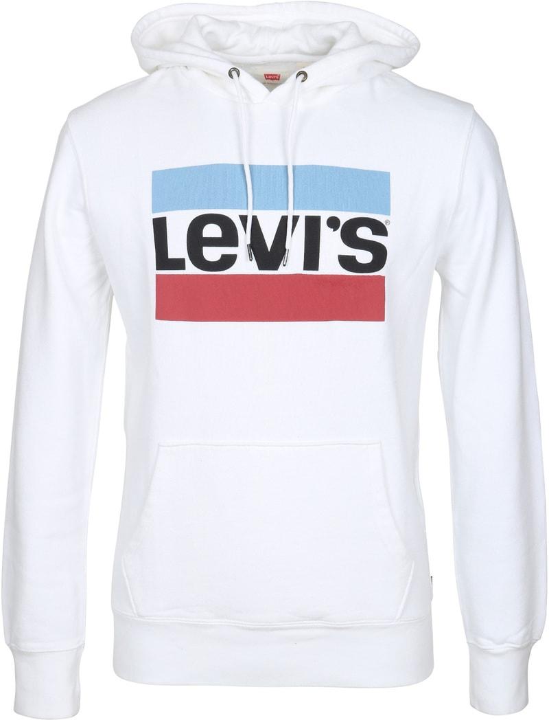 Levi's Hoodie Weiß  online kaufen   Suitable