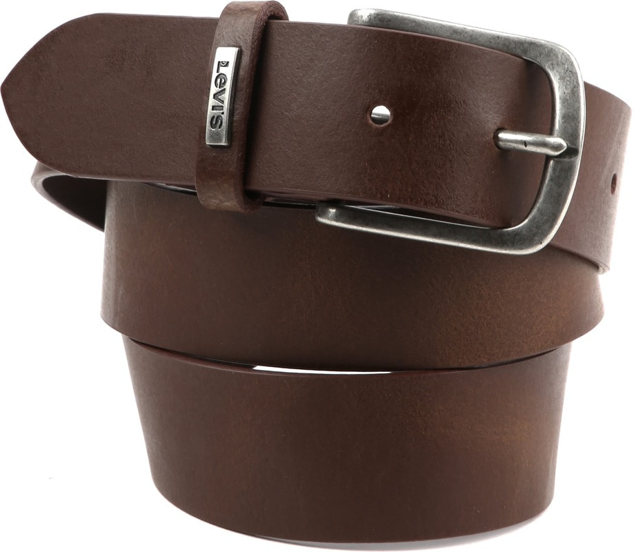 Levi's  Lev 8 Leather Belt Brown photo 0