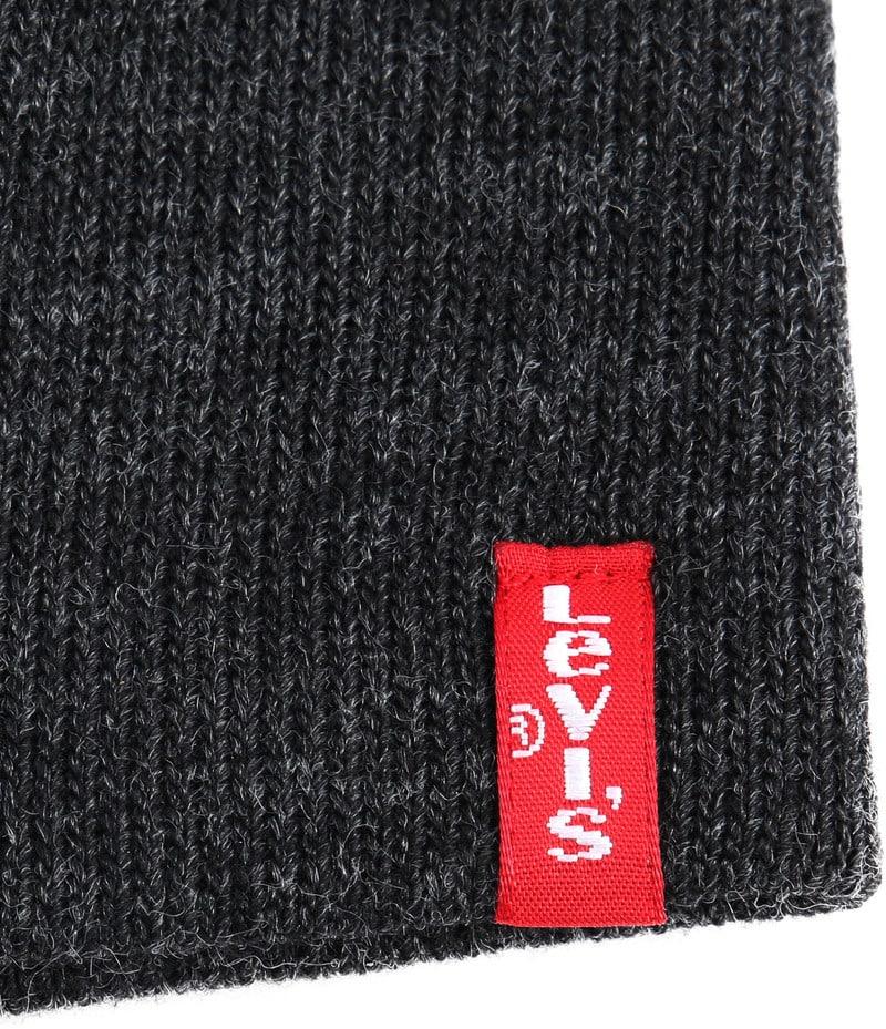 Levi's Mütze Dunkelgrau Foto 1