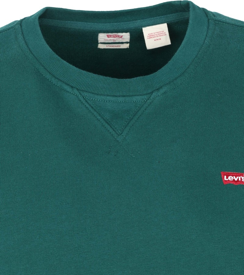 Levi's Original Sweater Donkergroen