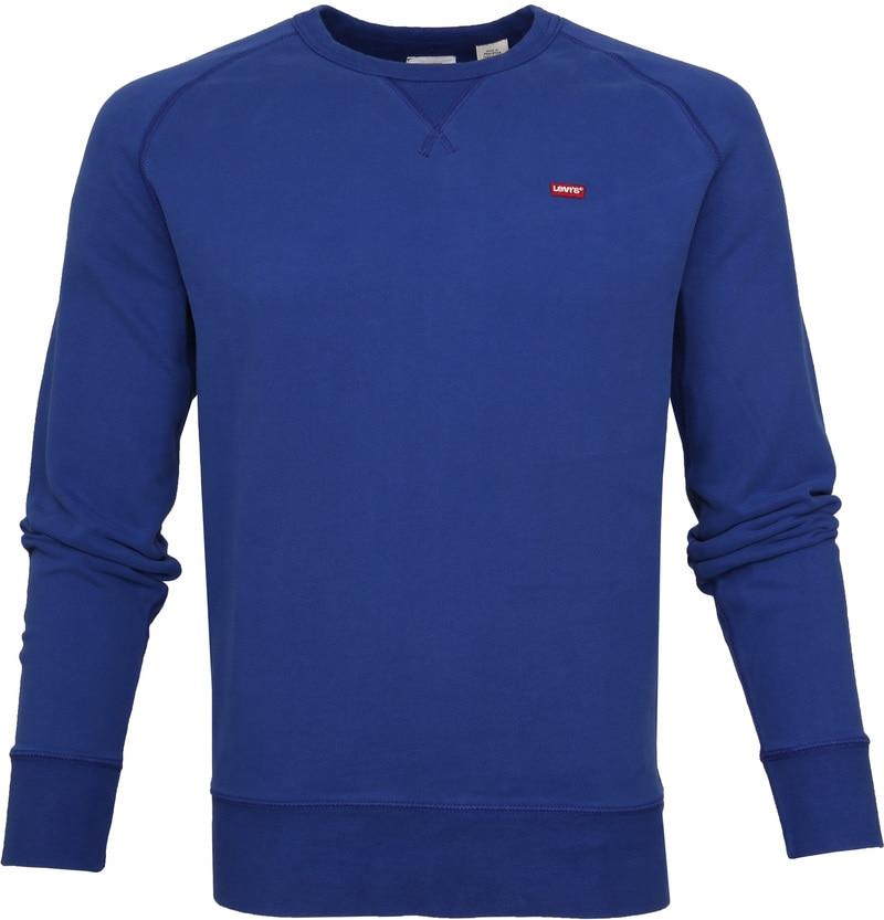 Levi's Original Sweater Indigo Blauw foto 0