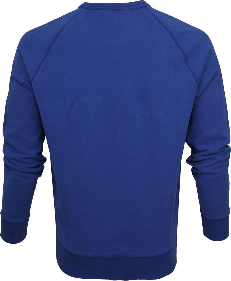 Levi's Original Sweater Indigo Blauw foto 3