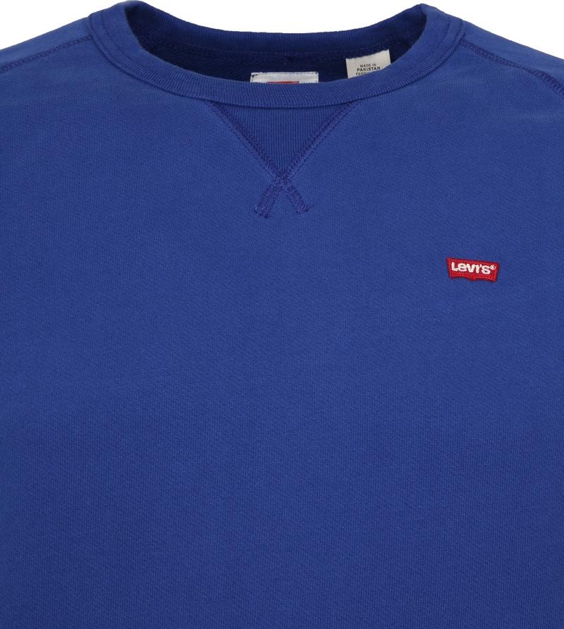 Levi's Original Sweater Indigo Blue photo 1