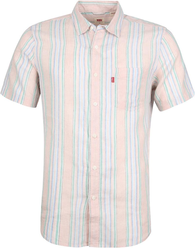 Levi's Overhemd Sunset Roze foto 0