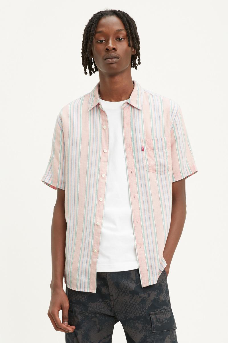 Levi's Overhemd Sunset Roze foto 4